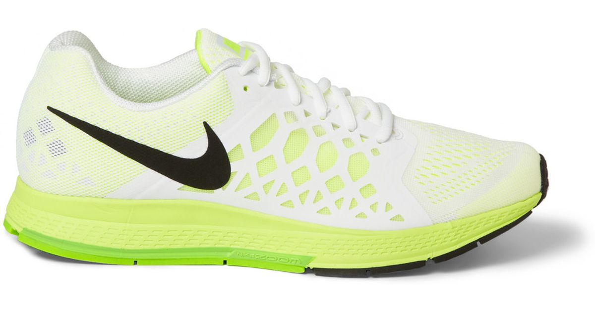 d1e553fe6dac Lyst - Nike Air Zoom Pegasus 31 Mesh Sneakers in Green for Men