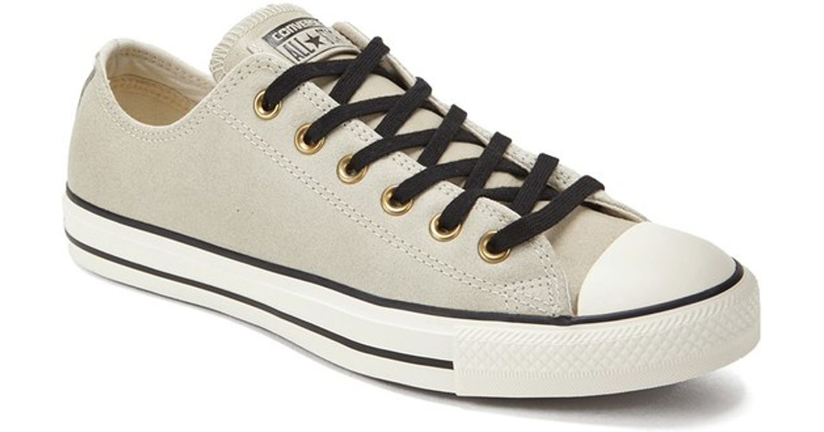 Lyst - Converse Men's Chuck Taylor All Star Vintage Leather Ox Trainers in  Natural for Men