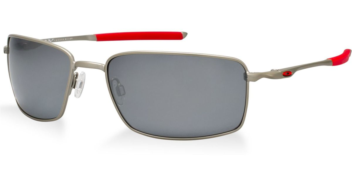Lyst - Oakley Square Wire in Red