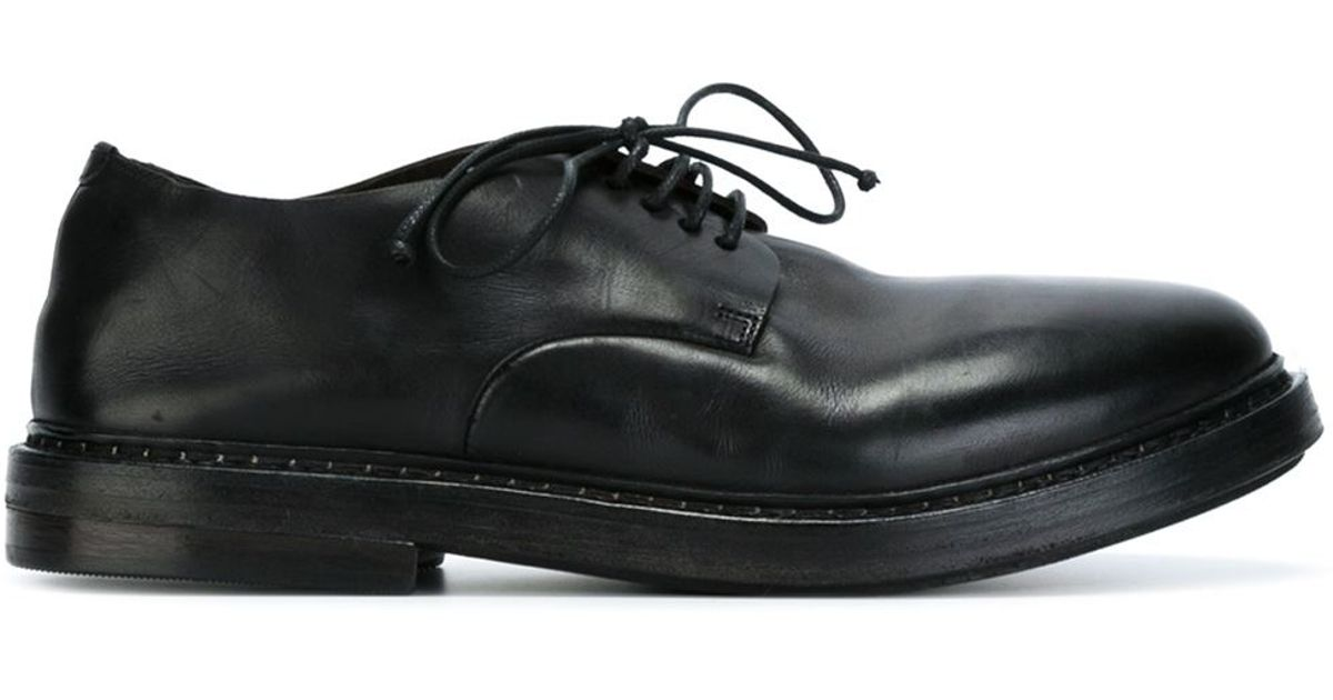 Marsèll Leather Rubber Sole Derby Shoes