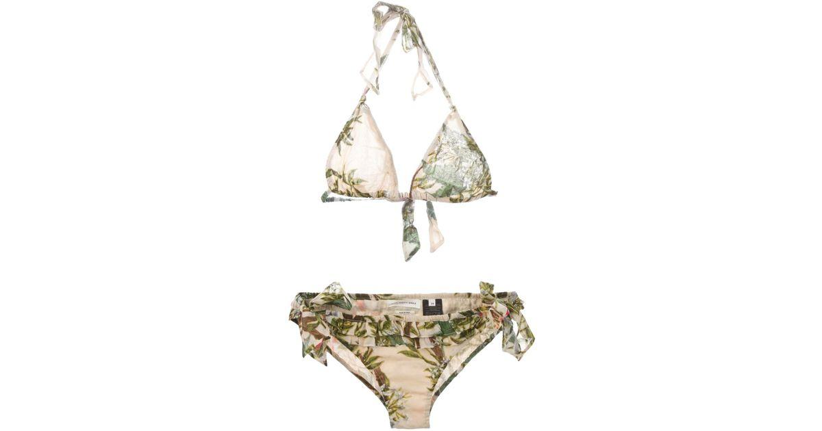 a54c2c567581b Étoile Isabel Marant Woody Bikini Top - Lyst
