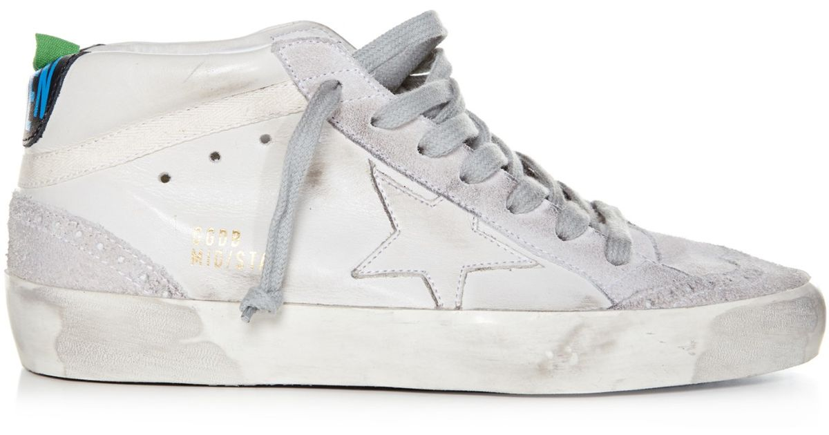 Midstar leather and suede trainers Golden Goose JCiDNq