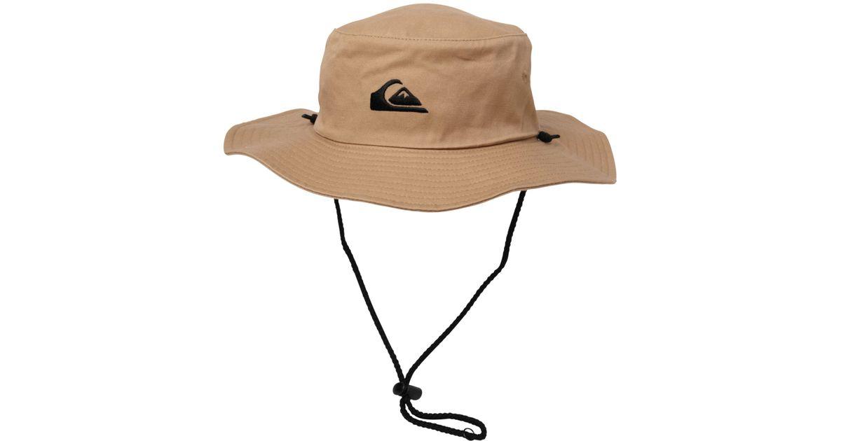 Khaki Quiksilver Bushmaster Hat New