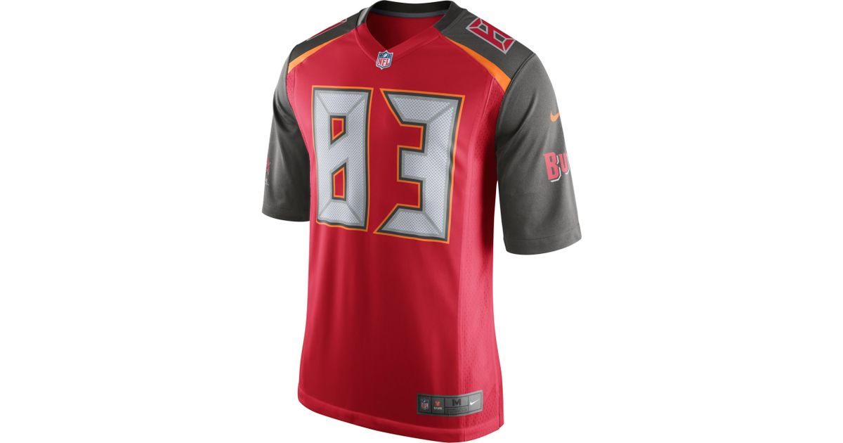 Men's Tampa Bay Buccaneers Lavonte David Nike Red Player Name & Number T-Shirt