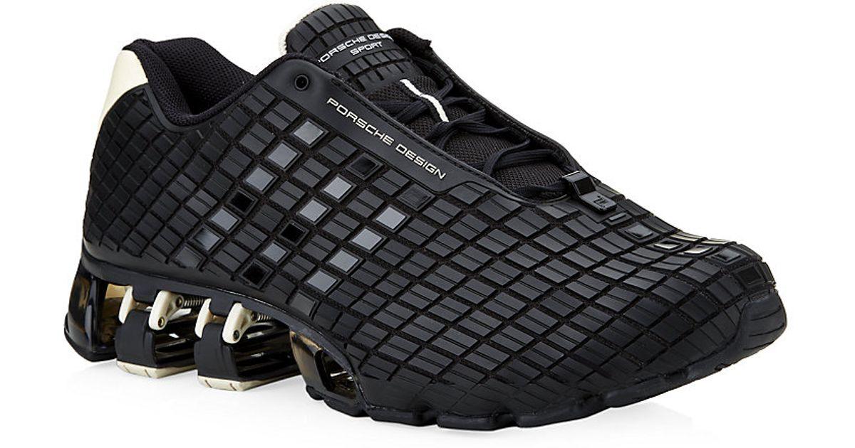 brand new c4dee 96ec4 Porsche Design Black Bounce S3 Running Trainer for men