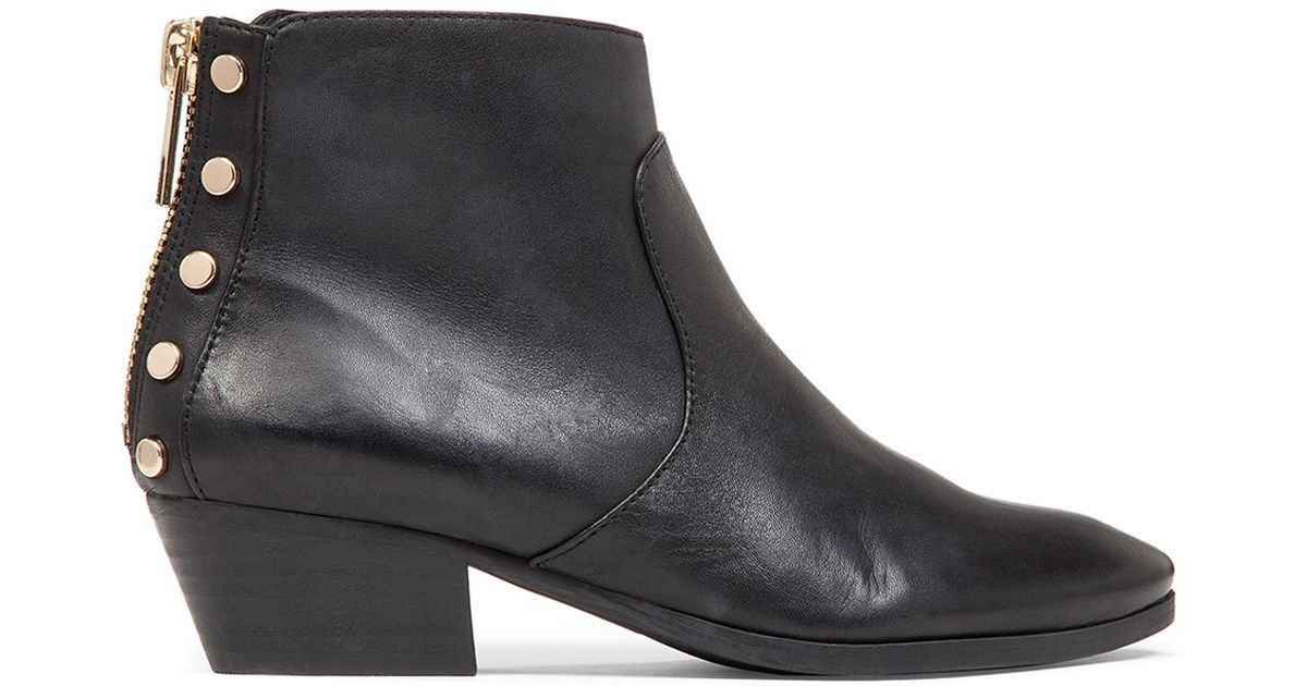 Vince Camuto Cinza Studded Booties In Black Lyst