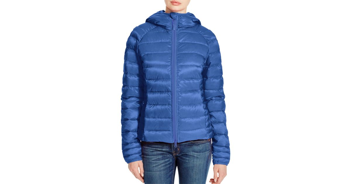 Canada Goose trillium parka replica fake - Canada goose Brookvale Hooded Puffer Jacket in Blue (Royal Blue ...