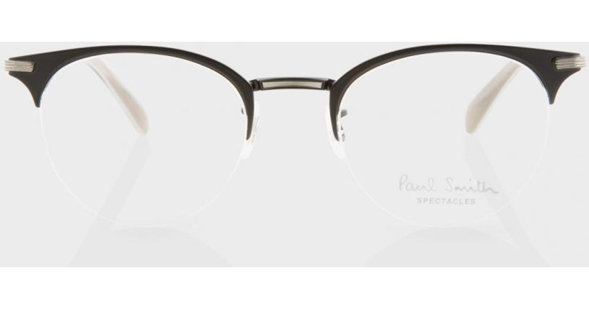 73d7a22bcf15 Paul Smith Matte Onyx And Pewter  ellidge  Spectacles for Men - Lyst