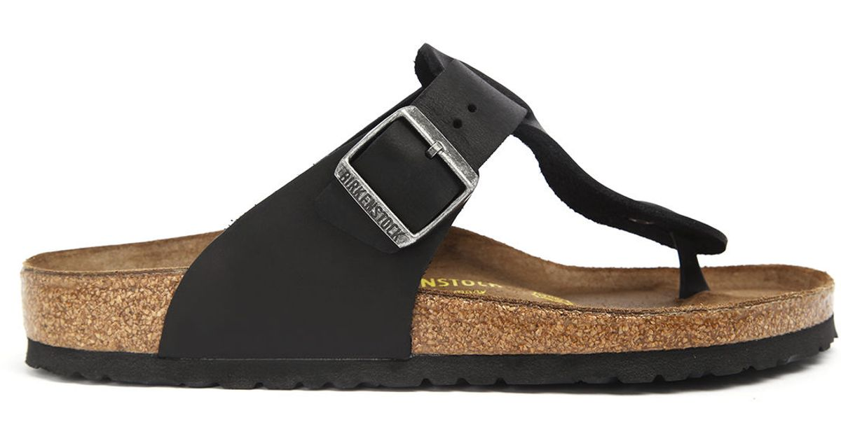 Birkenstock Medina Oiled Leather Pinkomo