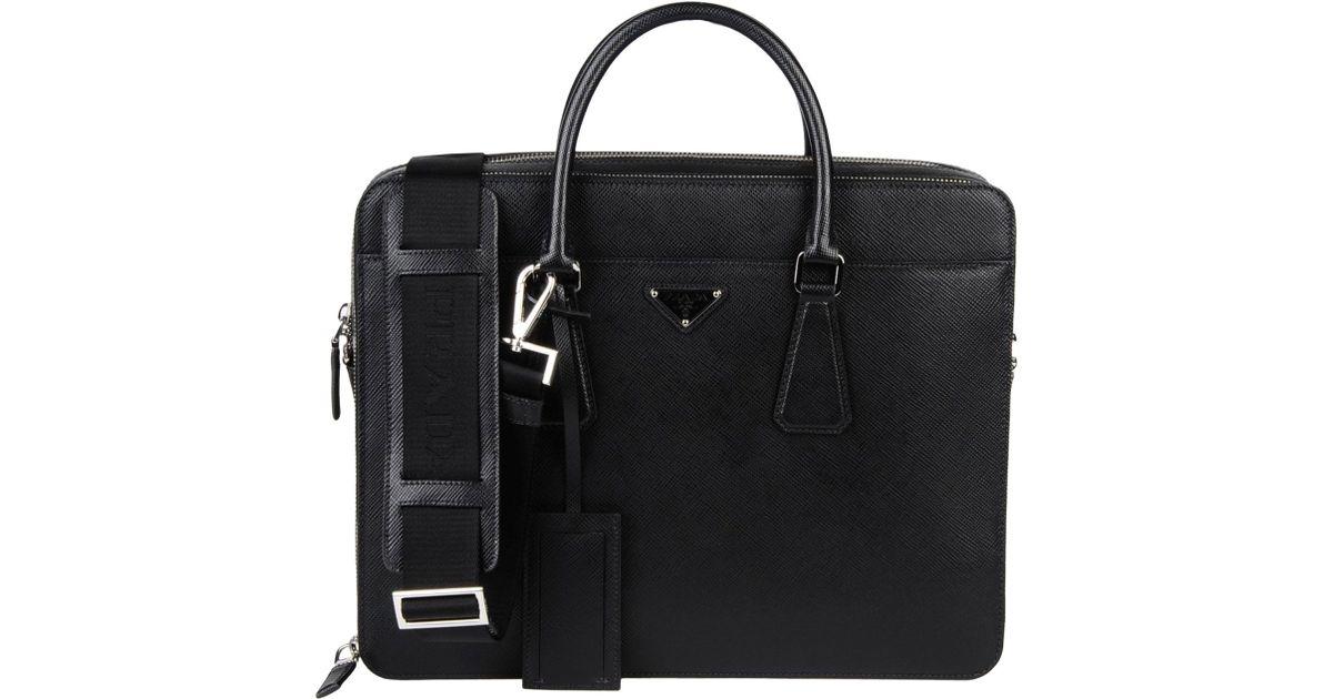 bcf4b7ee Prada Black Work Bags