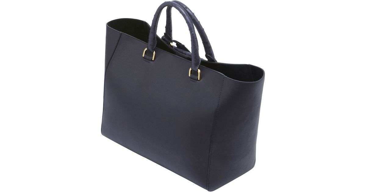 ... coupon code for lyst mulberry willow tote in blue 08ec8 d6774 f4218bd3ebda9