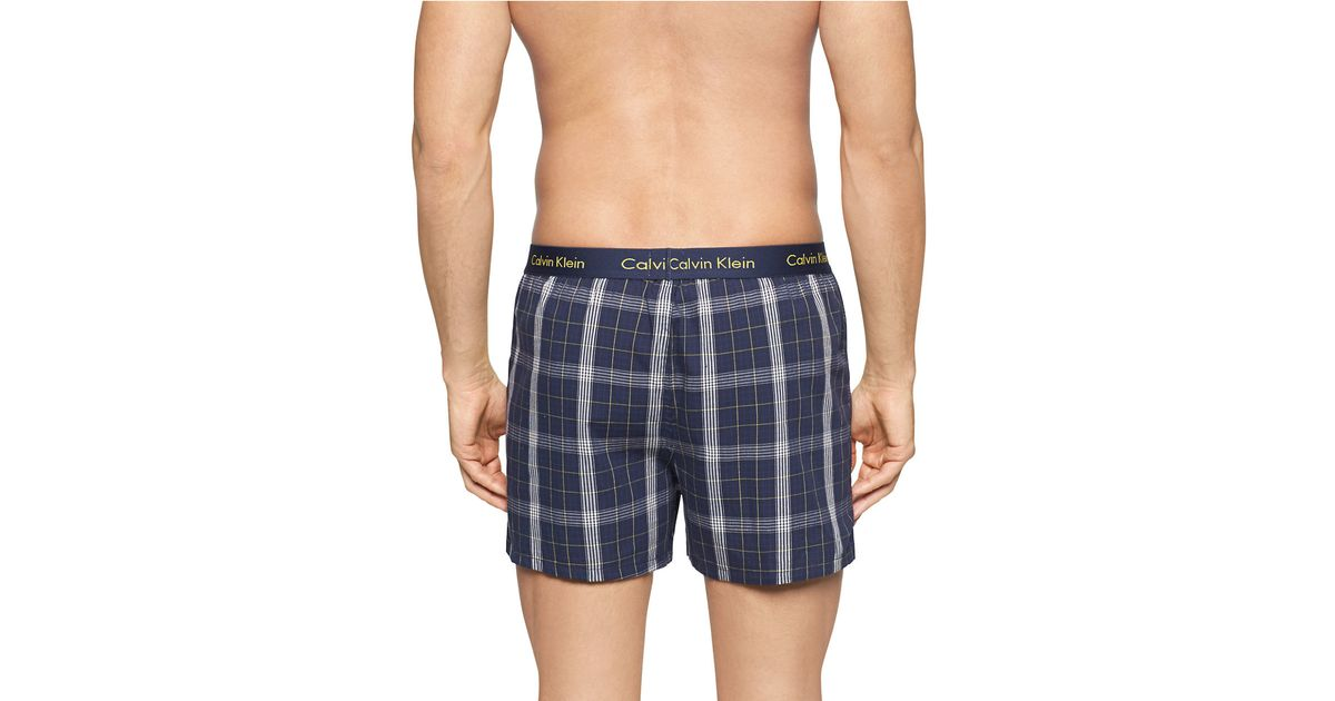 For the man who sticks to boxers, shop Lucky Brand. Men's boxers in various colors and prints are a go-to in soft cotton fabric that breathes easy year round. For the man who sticks to boxers, shop Lucky Brand. they're ideal for the guy who loves skinny jeans and slim-fit trousers. There's no extra fabric that will bunch up or create a.