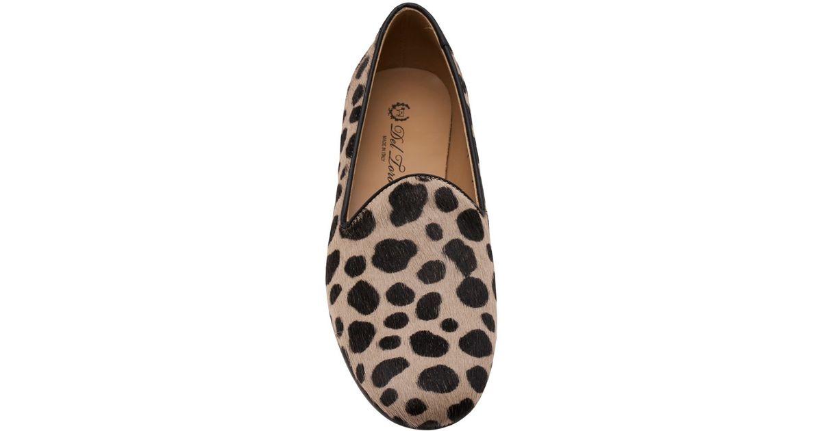 e11971636c9 Lyst - Del Toro Cheetah Print Slippers in Brown