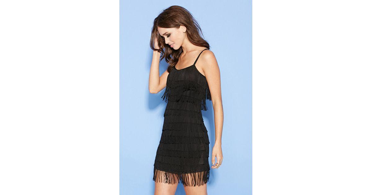 Tiered Fringe Cami Dress Forever 21