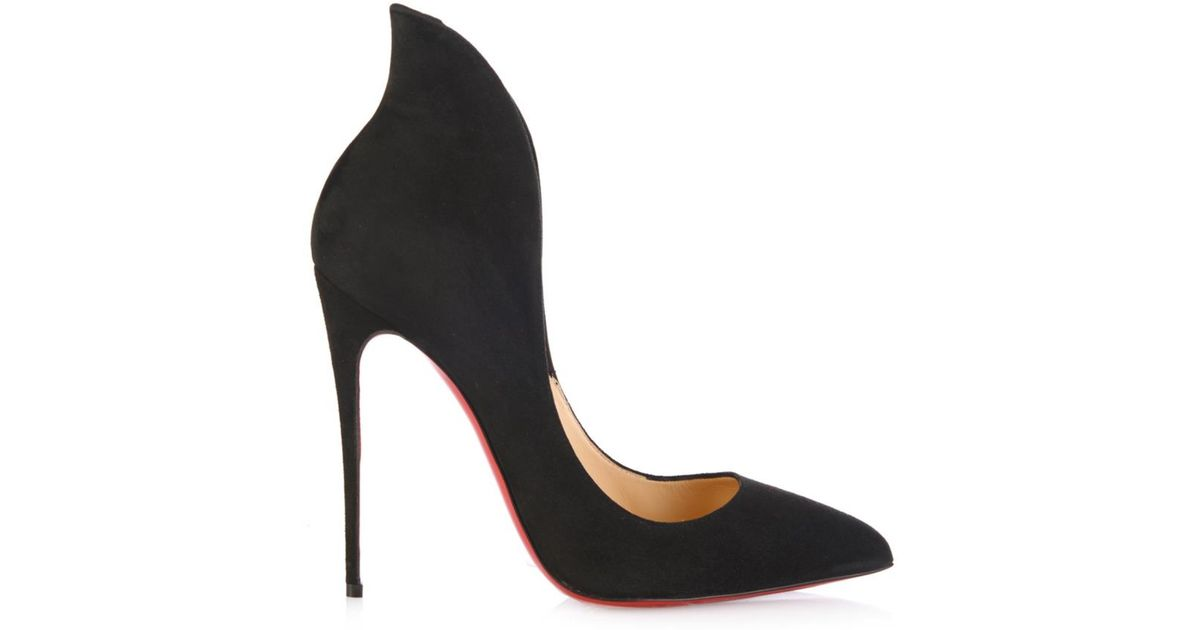 replica shoes louboutin - christian louboutin biala spike leather red sole pump, mens ...