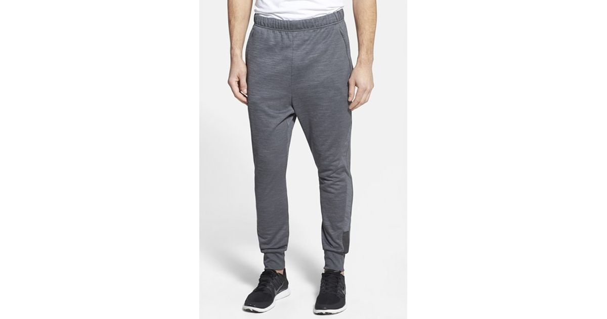 f72400fae34e3e Lyst - adidas 'beyond The Run' Slim Fit Climalite French Terry Jogger Pants  in Gray for Men