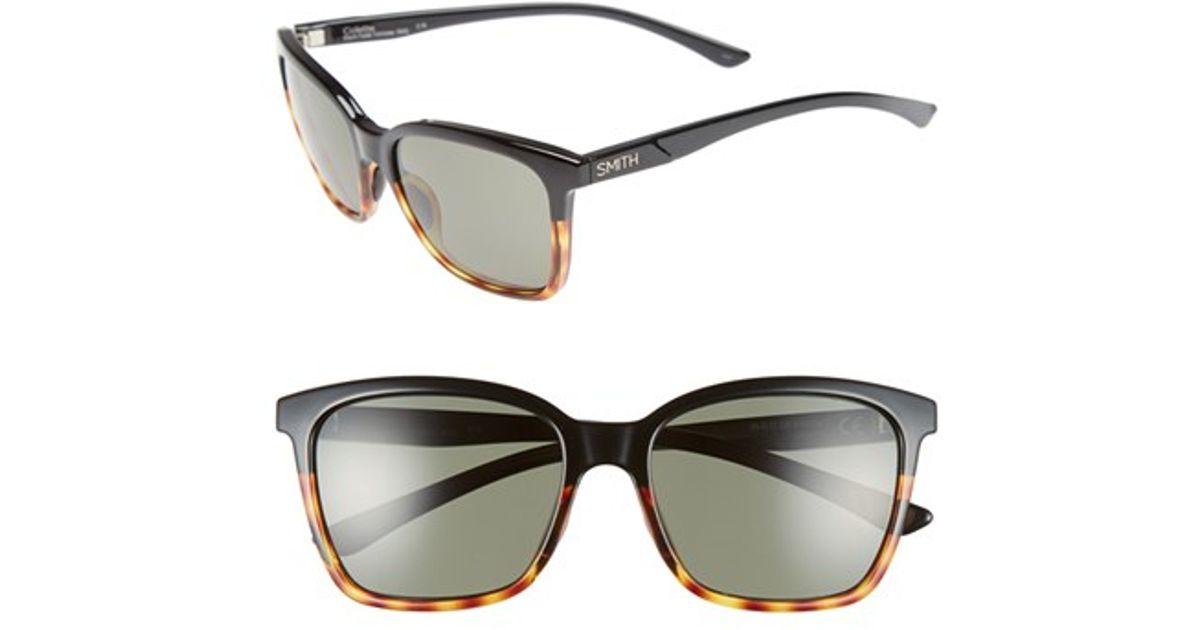 01c15afbd8 Smith Optics  colette  55mm Polarized Sunglasses - Lyst