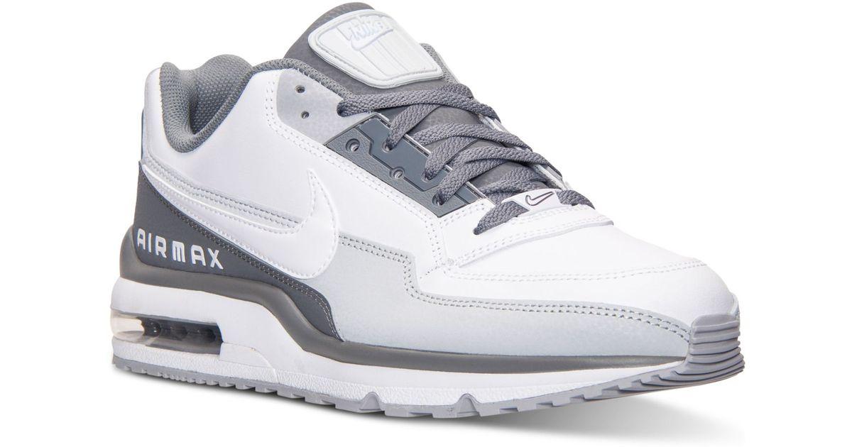 Nike White Men's Air Max Ltd 3 Running Sneakers From Finish Line for men