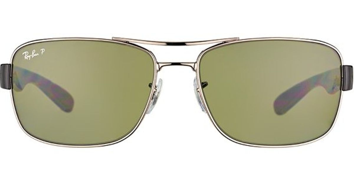 1809173e33 Lyst - Ray-Ban Rb 3522 004 9a Gunmetal Aviator Metal Sunglasses-61mm in  Metallic