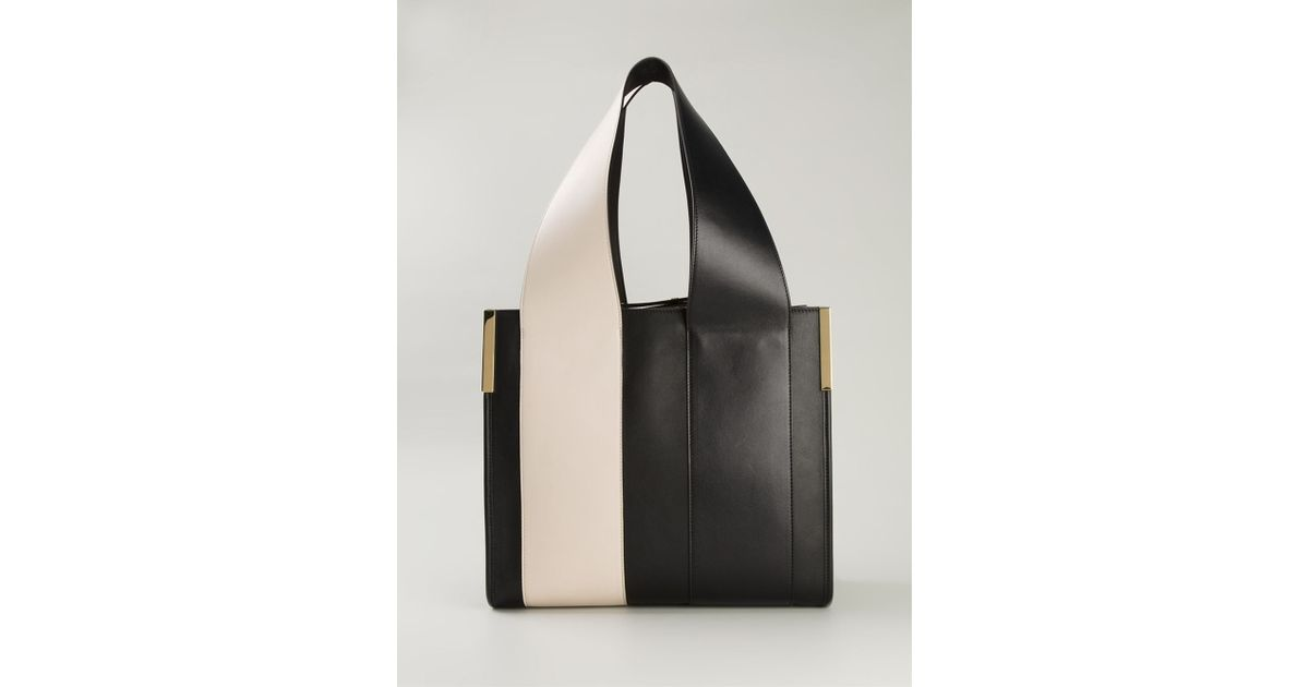 Chloé 'Beach Bag' Tote in Black | Lyst