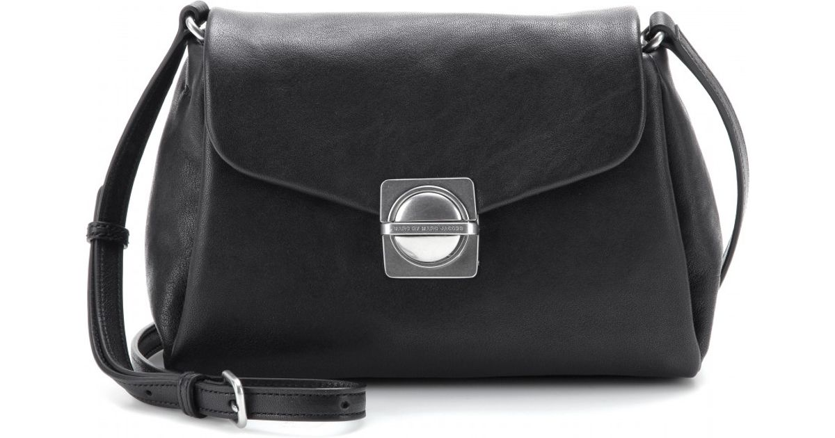 Messenger In Small Shoulder Leather Marc By Jacobs Lyst Bag Black fFxqPB