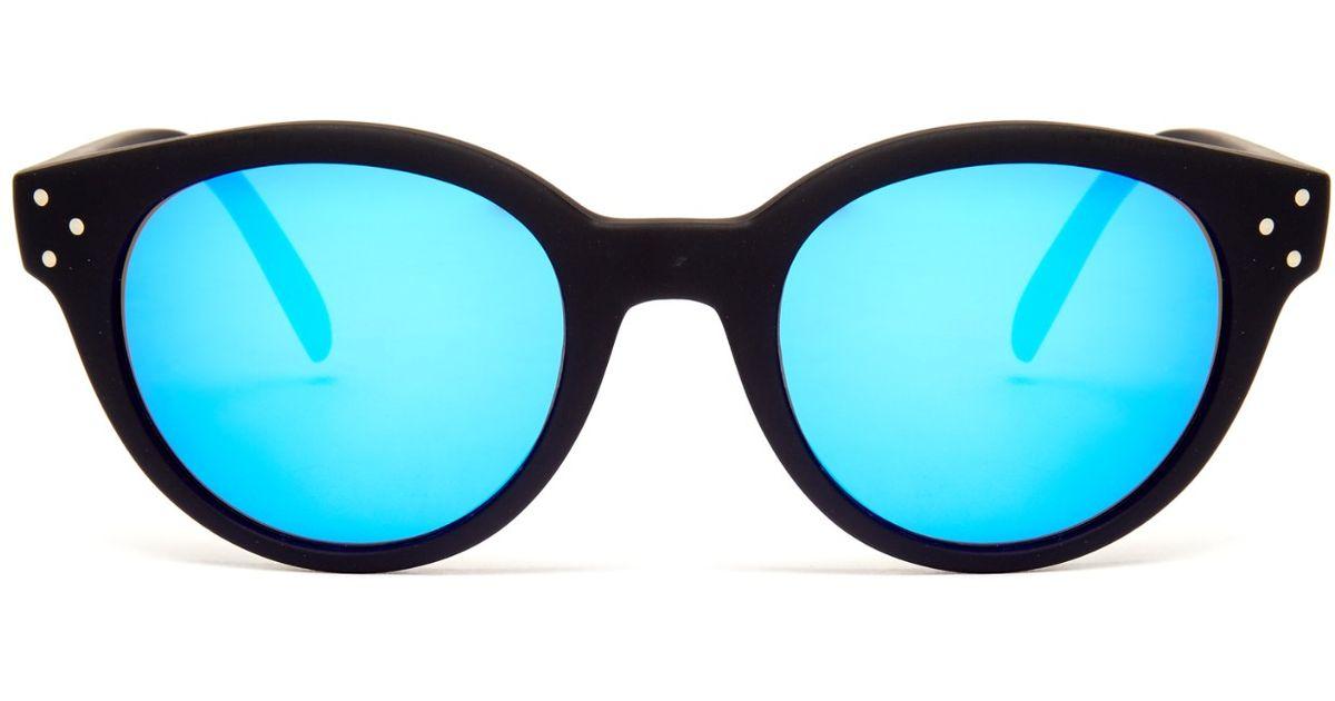 02b2d6c5cbd Lyst - Spektre Vitesse Mirrored Sunglasses in Black
