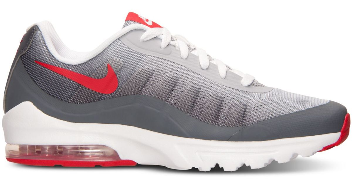 6f487b7e3d Nike Men's Air Max Invigor Print Running Sneakers From Finish Line in Red  for Men - Lyst