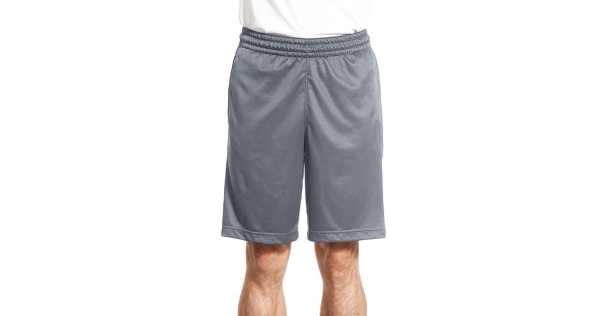 498a42bb4af Nike Gray 'elite Stripe' Basketball Shorts for men