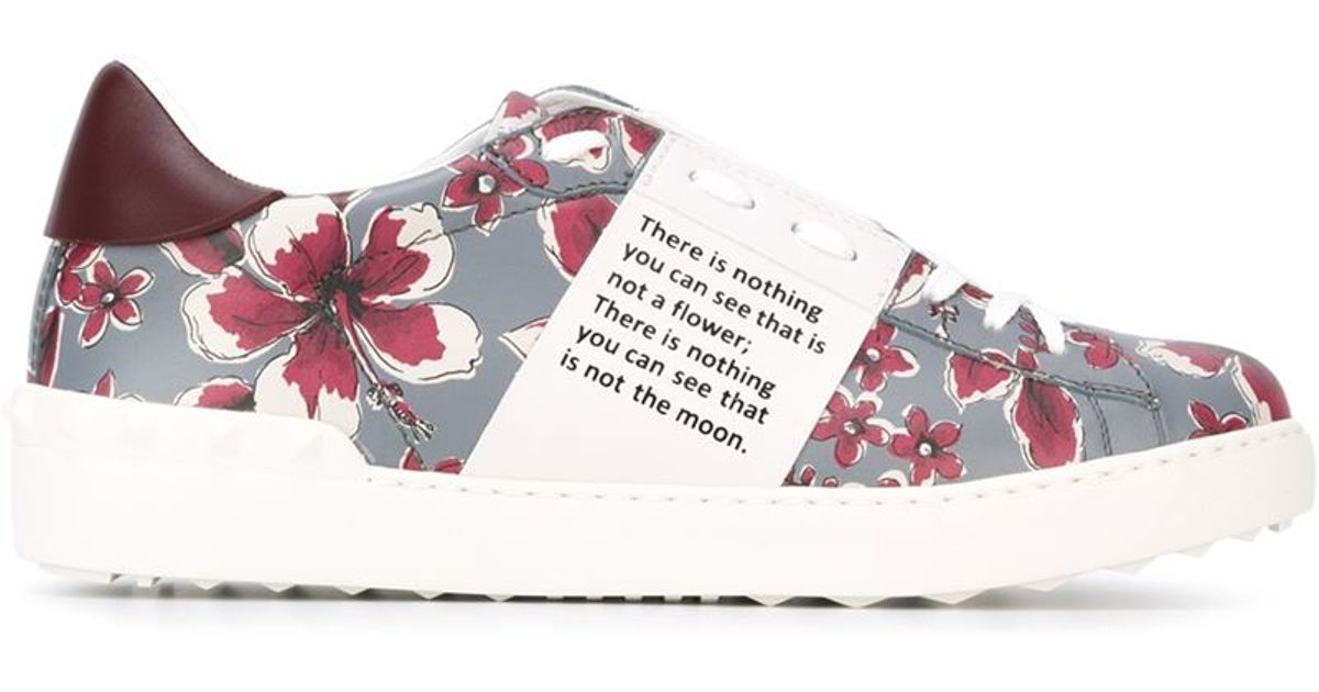 floral print sneakers cheap online