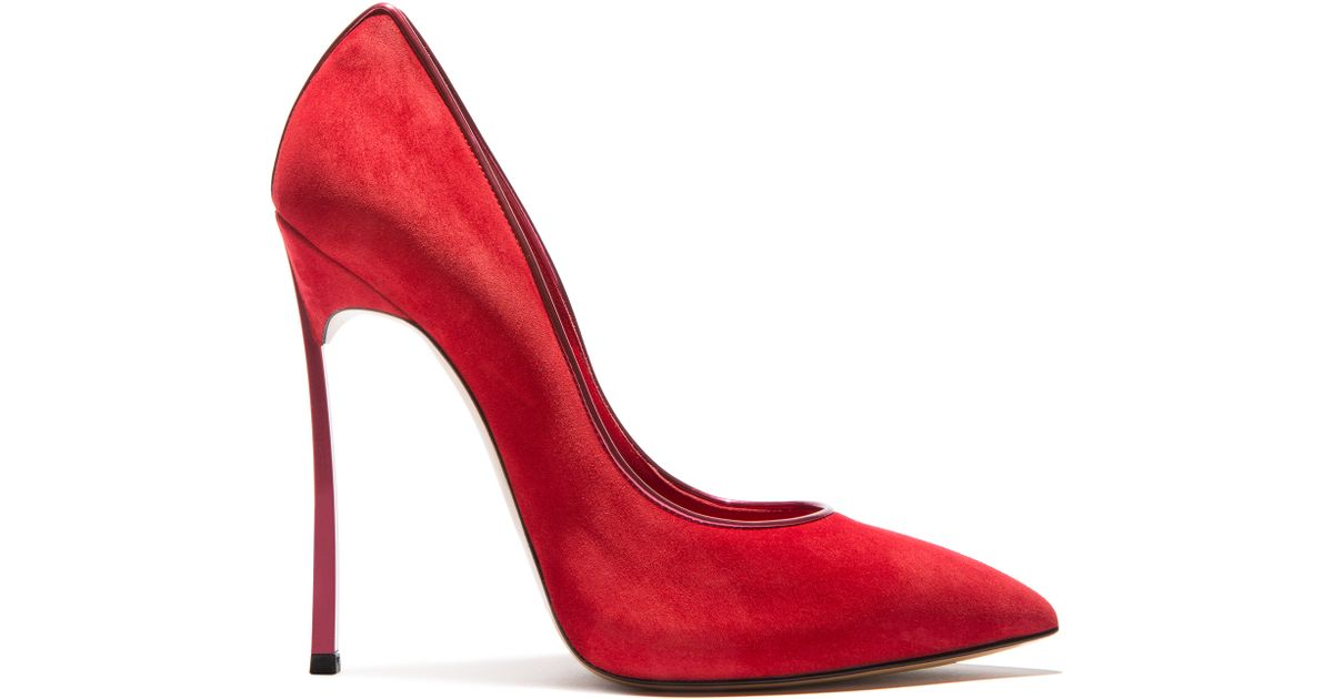 Lyst - Casadei Blade in Red 8ff7be7ad36