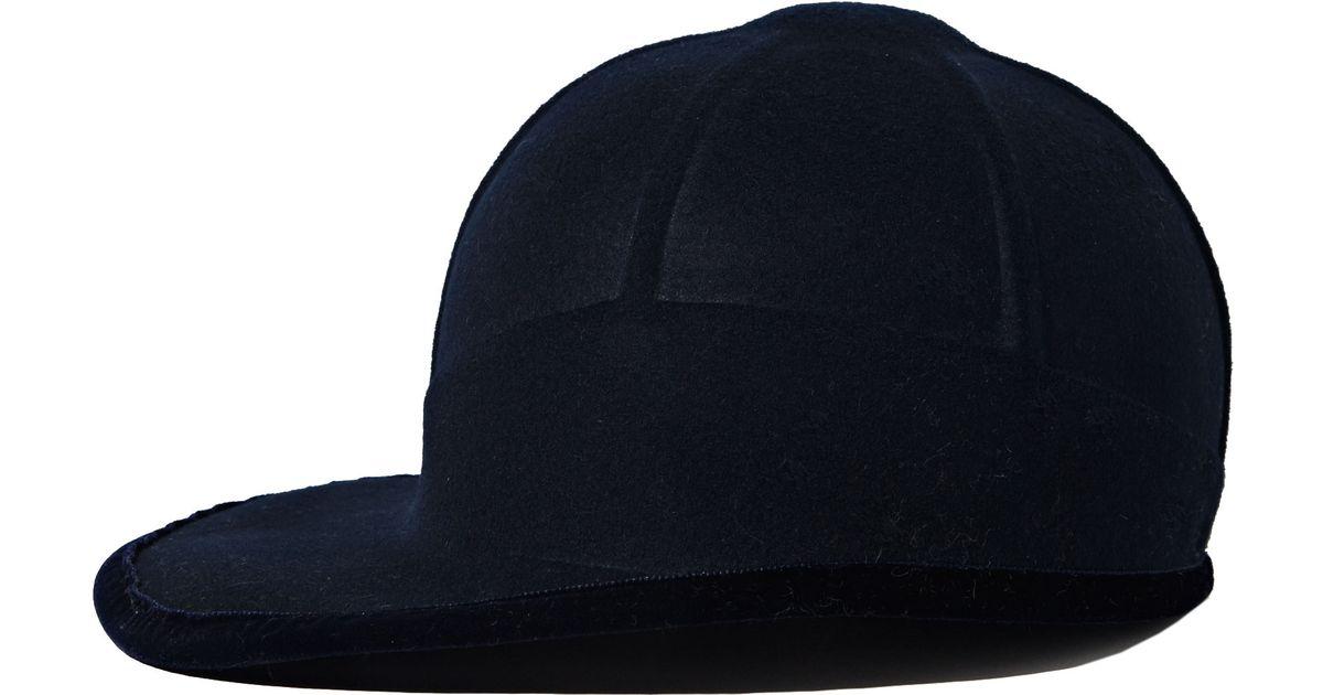 Lyst - Clyde Womens Safari Wool Felt Ballcap in Blue b886fa3ffc7