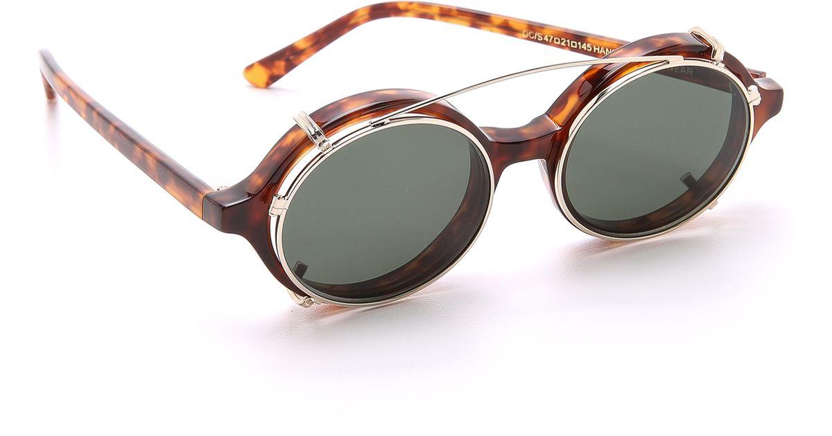 45db1ee905 Lyst - Han Kjobenhavn Doc Clip-on Sunglasses for Men