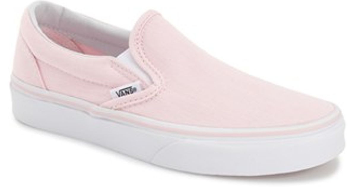 Sneaker 'classic' on Pink Vans Slip in Lyst 0knXOw8P