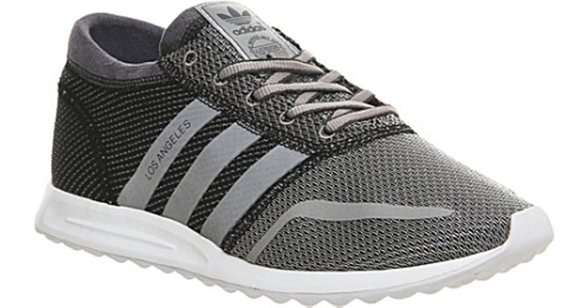 Adidas Originals Gray Los Angeles Trainers for men