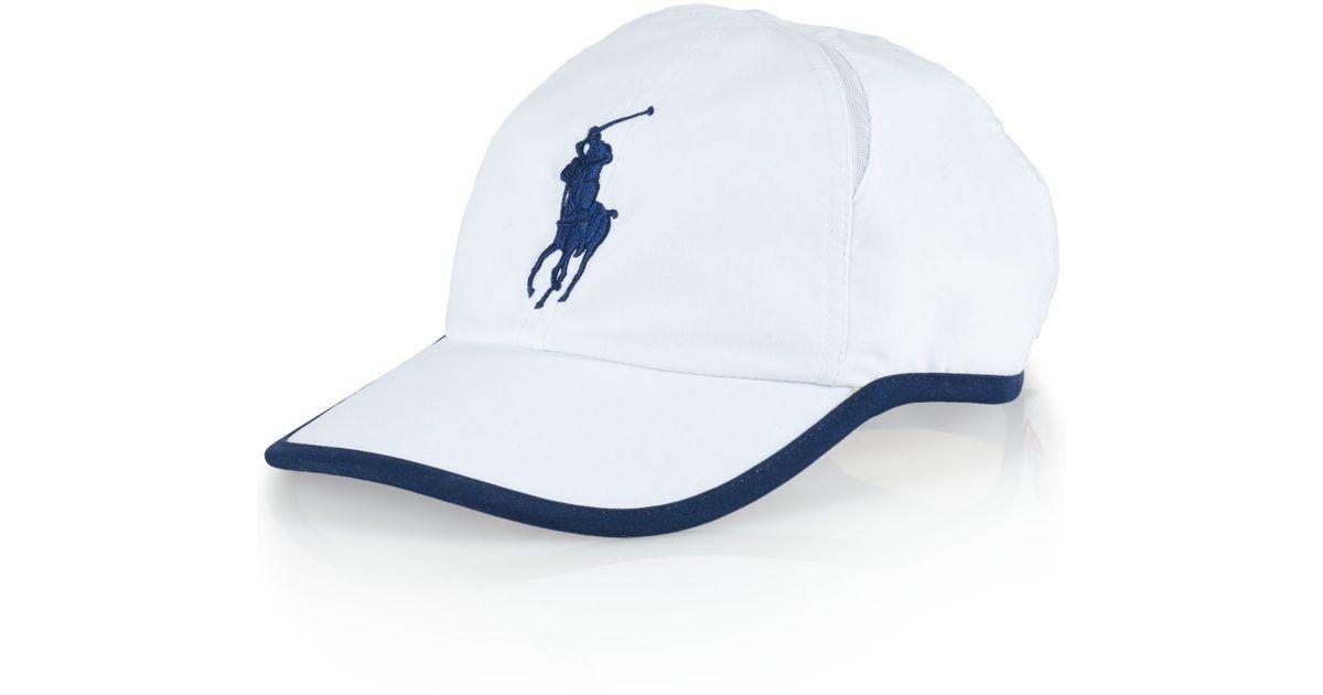 151396becd9 Lyst - Polo Ralph Lauren Us Open Mesh-panel Hat in White for Men
