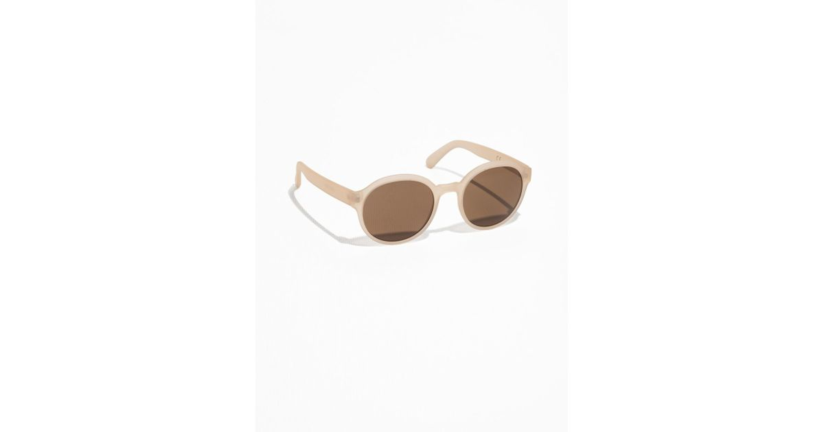 dc7c359e2c0f4   Other Stories Round Frame Sunglasses - Lyst