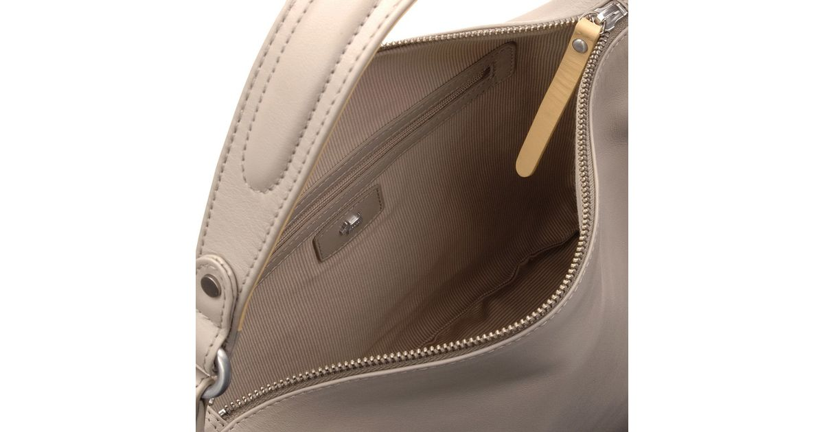 5faeb4dc194e Radley Frith Street Medium Leather Hobo Bag in Natural - Lyst