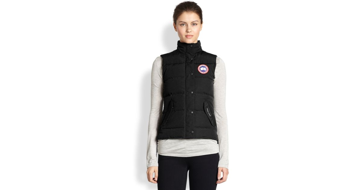 Canada Goose expedition parka replica authentic - Canada goose Down Freestyle Vest in Black | Lyst