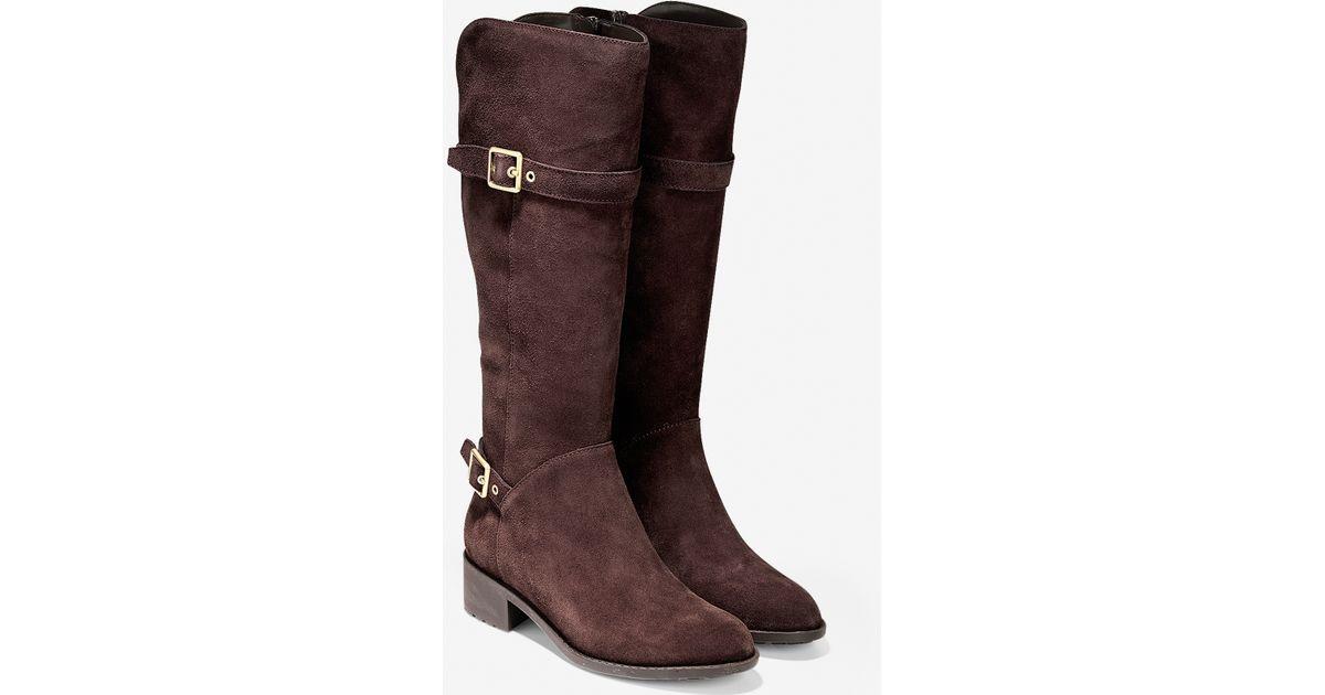 cole haan indiana waterproof boot in brown lyst