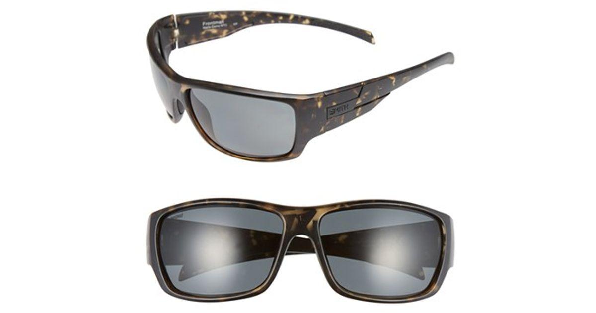 b74cd28d0b572 Lyst - Smith Optics  frontman  61mm Polarized Sunglasses in Brown for Men