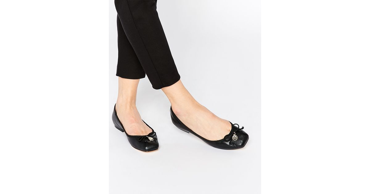 Chloe Leather Ballet Shoes