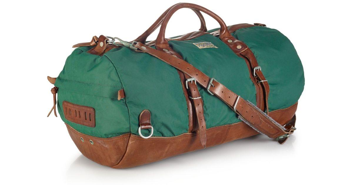 e2cc2ff81cde Lyst - Polo Ralph Lauren Yosemite Nylon Duffle Bag in Green for Men