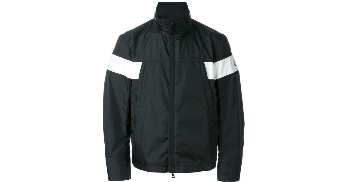 lyst moncler damen padded jacket in black for men. Black Bedroom Furniture Sets. Home Design Ideas