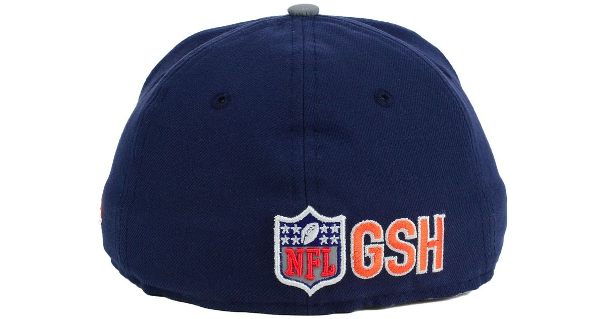 huge selection of 1b464 83f94 KTZ Kids  Chicago Bears Thanksgiving On-Field Reflective 59Fifty Cap in  Blue for Men - Lyst