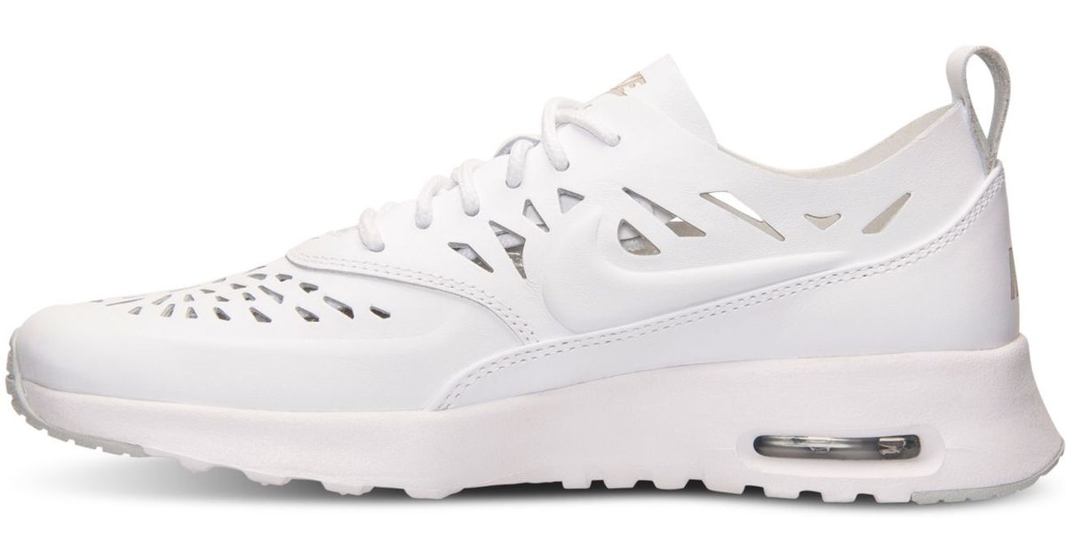 the best attitude e0797 9035e ... aliexpress lyst nike womens air max thea joli running sneakers from  finish line in white e2d61
