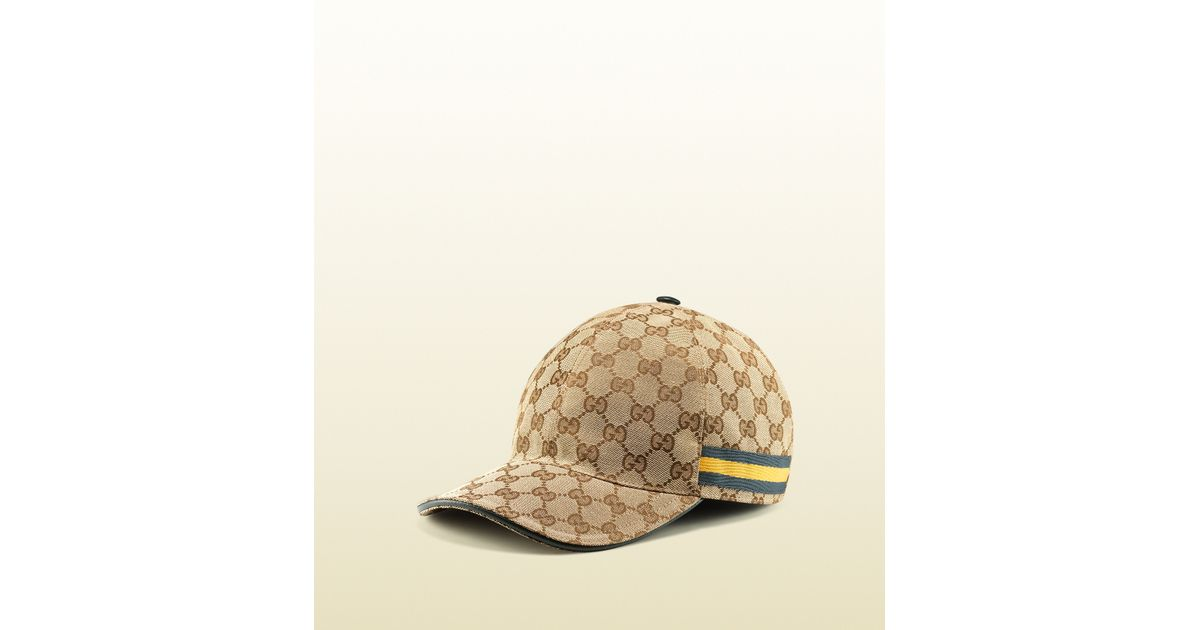 Gucci Original Gg Canvas Baseball Hat in Brown for Men - Lyst 5413c4103d4