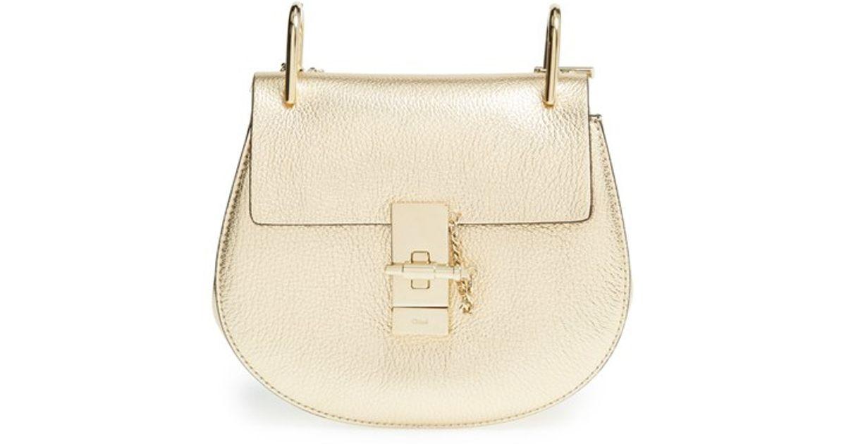 Deals Cheap Online Mini Drew shoulder bag - Metallic Chloé Sale Professional FcyvhJx1Ux