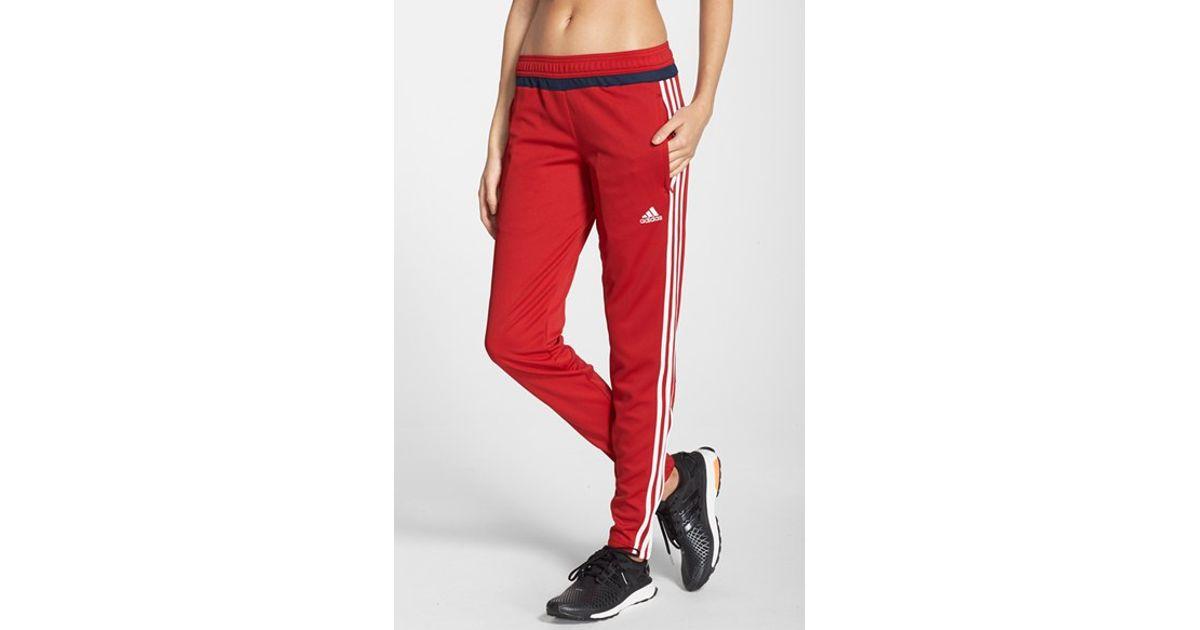 jakość wykonania sklep internetowy najlepiej autentyczne Adidas Red 'tiro 15' Training Pants
