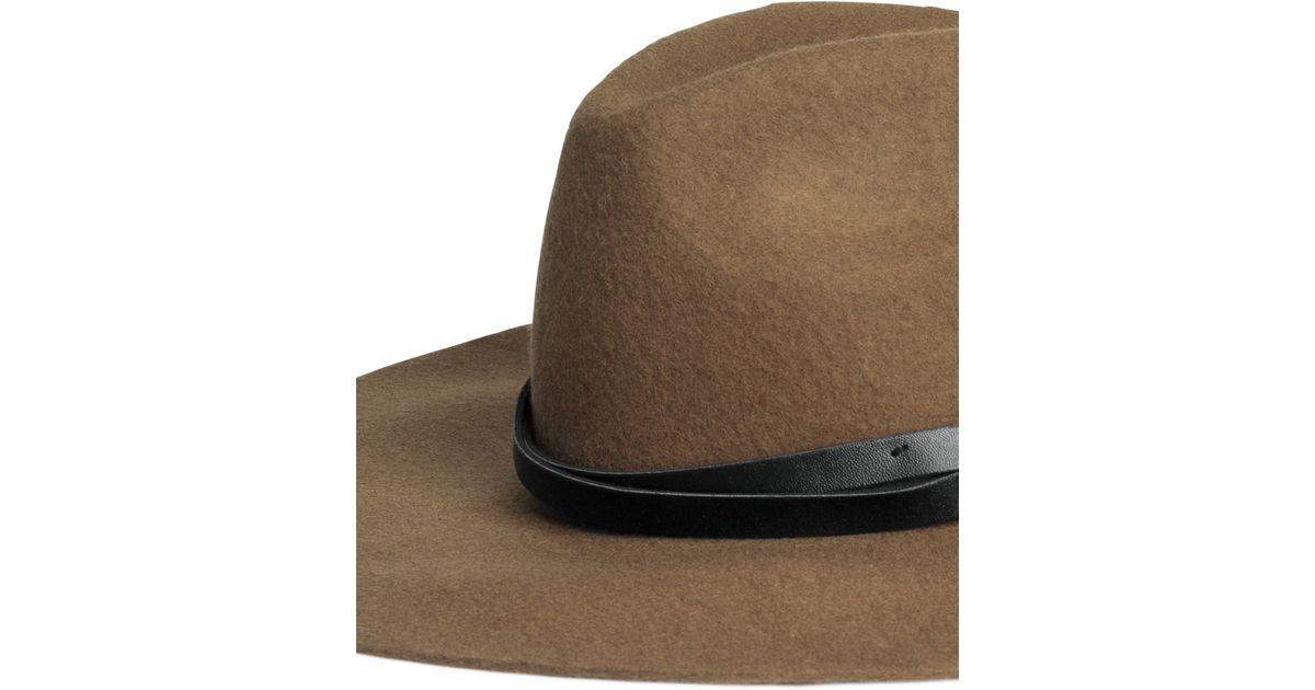 e9bb98dac H&M Brown Wool Hat