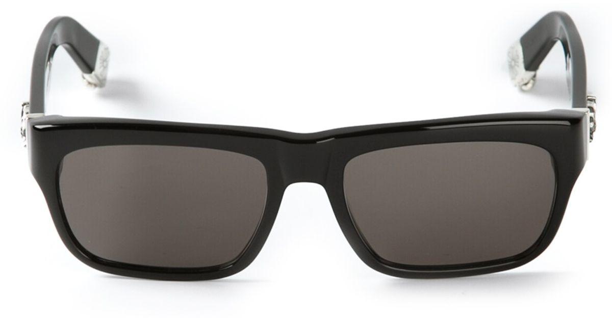 557888bf524d Lyst - Chrome Hearts Sluss Bussin Sunglasses in Black for Men